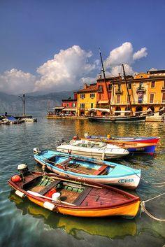 Lago di Garda, Italy.
