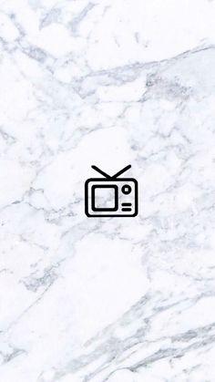 Instagram Logo, Instagram Music, Instagram White, Instagram Story Ideas, Instagram Feed, Tv Icon, Music Icon, Black Aesthetic Wallpaper, Aesthetic Wallpapers