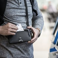 P02 PIONEER TRAVEL WALLET - Dango Products Easy Online Jobs, Make Money Online, Leather Wallet, Leather Bag, Wedding Ring For Him, Craft Online, Cool Gadgets To Buy, Travel Items, Cool Things To Buy