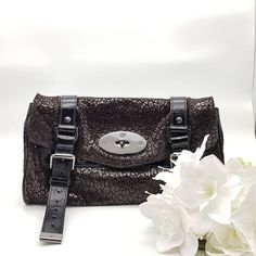 ddd1a0522558 Preloved Mulberry Alexa Small Clutch Bag