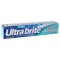Ultra Brite Baking Soda & Peroxide Whitening Anticavity Fluoride Toothpaste, Cool Mint , 6 Oz (Pack of Whitening Fluoride Toothpaste, Best Teeth Whitening Kit, Natural Teeth Whitening, Flavored Toothpaste, Best Makeup Brushes, Best Makeup Products, Best Foundation Makeup, Makeup Kit Essentials, Dental Supplies