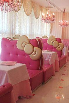 Hello Kitty Restaurant in Bejing