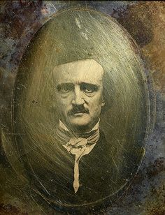 """Studio of Samuel Masury and S.  W.  Hartshorn; Edwin Manchester, photographer; """"Ultima Thule"""" daguerreotype portrait (contemporary copy) of Edgar Allan Poe, November 9, 1848; The Morgan Library & Museum, New York, MA 8658; Purchased by Pierpont Morgan, 1909"""
