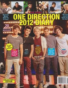 Life Story One Direction 2012 Diary Magazine « Library User Group