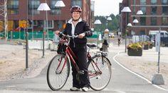 Helsinki houkutteli Tarjan pyöräilemään! Helsinki