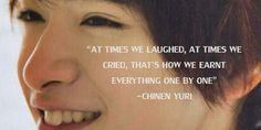 Chinen yuri quotes