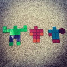 Ally and Matty's Magna-Tiles Creation - The Avengers!