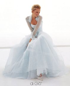 Pale blue wedding dress- cute pose for picture. The pose is cute, but pale blue? So pretty Ice Blue Weddings, Blue Wedding Gowns, Wedding Dress Styles, Bridal Gowns, Blue Bridal, Wedding Poses, Romantic Weddings, Wedding Ideas, Mode Pastel