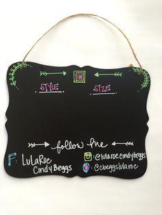 Lularoe Chalkboard Sign by AllAboutADesigns on Etsy
