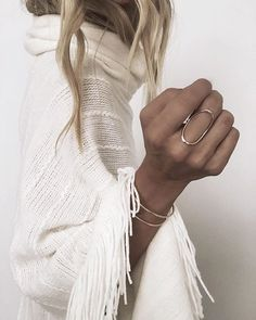 Oval Ring + Winter Vibes brought to you by the lovely Jamie of James Michelle