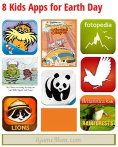 8 Kids Apps for Earth Day