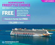 Incredible offer! http://www.cruiseshipcenters.ca/jeanninepringle