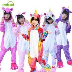 5fd4ac7f43224 Flannel winter Pegasus christmas pajamas. Pyjama EnfantPyjama LicorneFlanelleVêtements  ...