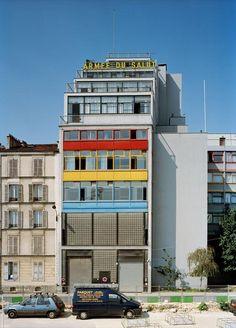 Fondation Le Corbusier - Buildings - Armée du Salut, Cité de Refuge