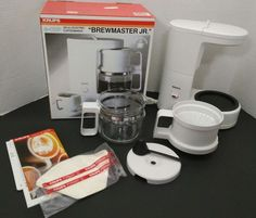 Krups Type 170 Brewmaster Jr 4 Cup Electric Coffee Maker 20 Ounces In Box Nice Kitchen, Kitchen Stuff, Krups Coffee Maker, Electric Coffee Maker, Coffee Love, Cool Kitchens, Consumer Electronics, Jr, Wicked
