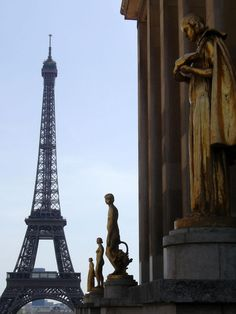 Pariz - Ajfelova kula Tower, Building, Travel, Viajes, Computer Case, Buildings, Towers, Trips, Construction