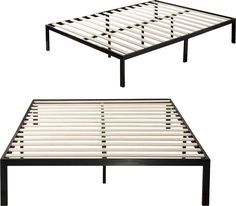 Features:  -Zinus collection.  -Strong mattress support prevents sagging and increases mattress life.  -Eliminates the need for a box spring.  -Plastic feet protect your floors.  -Weight capacity: 120