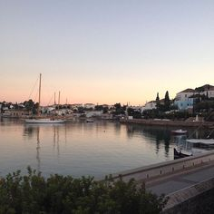 The calming colors of December - #Spetses - Old Harbor