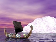 Viking boats are popular kids crafts