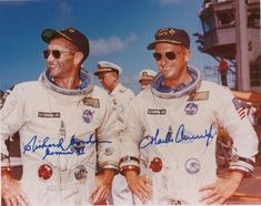 Reissue of the Glycine Airman Charles Conrad Jr's watch on Gemini 5 and 11 missions, along with official Omega Speedmaster Nice Watches, Vintage Watches, Pete Conrad, Gemini, Glycine Airman, Speedmaster Professional, Space Projects, Nasa Astronauts, Vintage Space
