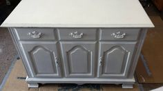 From Buffet to Rustic Kitchen Island