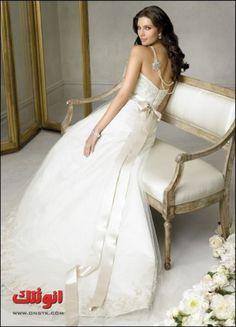 صور فساتين زفاف جديدة 2013 صور فساتين زفاف