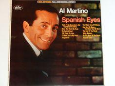 "Al Martino - Spanish Eyes - ""Make the World Go Away"" - Jazz - Big Band - Capitol Records 1966 Rainbow Label - Vintage Vinyl LP Record Album by notesfromtheattic on Etsy"