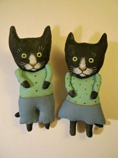 Hey, I found this really awesome Etsy listing at https://www.etsy.com/listing/466817246/black-cat-art-dolls-sandy-mastroni-soft