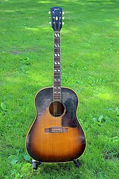 Vintage 1957 Gibson Southern Jumbo Acoustic Guitar