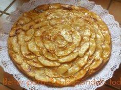 Receta Postre : La tarta de manzana mas facil del mundo ! por Reblogzandolo