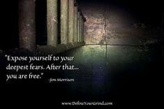 jim morrison fear quote