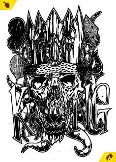 Estudo de estilo Black & White. Ilustração Livre. Todos os direitos reservados. Por: Nicholas Binotto