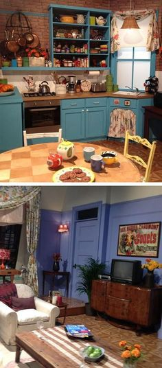 Monica's Apartment #friends