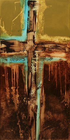 contemporary abstract cross, Michel Keck
