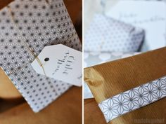 Merry christmas! … and last minute gift wrapping ideas - nadel&gabel