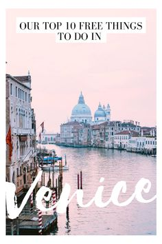 Our Venice Travel Guide ~ Venice is known for being expensive so we've made a list for travellers of free things to do! Venice Travel Guide, Famous Bridges, Visit Venice, Sustainable Tourism, Grand Canal, Rooftop Terrace, Free Things To Do, Plan Your Trip, Walking Tour