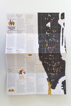 Party of One: Alone in New York / Tom Froese. via FPO #offset #print #nyc #maps