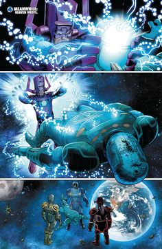 Image result for galactus vs celestial