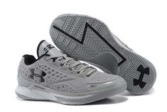 new product 86206 1d728 Cheap Under Armour Stephen Curry Low Shoes Black Grey