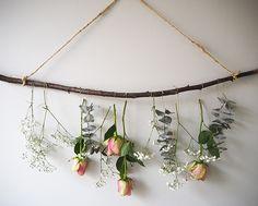 Suspension florale : une idée pour sublimer ses fleurs autrement - Marie Claire Idées