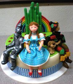 Cakes: Wonderful World of Oz on Pinterest | 62 Pins