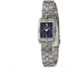Seiko Women's 'Dress' Stainless Steel Dial Quartz Watch