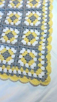 Best Ideas For Baby Girl Crochet Blanket Pattern Outfit Crochet Granny Square Beginner, Sunburst Granny Square, Granny Square Crochet Pattern, Crochet Blanket Patterns, Granny Squares, Baby Girl Crochet Blanket, Crochet Baby, Knitted Blankets, Baby Blankets