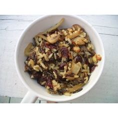 """Harvest Rice Dish   """"A variation of a basic rice recipe for the holidays."""""""