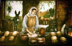 "Parable of the Leaven. BIBLE SCRIPTURE: Matthew 13:33, ""Another parable spake he unto them; The kingdom of heaven is like unto leaven, which a woman took, and hid in three measures of meal, till the whole was leavened."" - http://access-jesus.com/Matthew/Matthew_13.html"