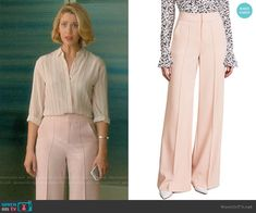 78a573c13f5 Petra s pink trousers on Jane the Virgin. Outfit Details  https   wornontv