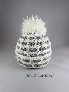 Crochet Pattern Tutorial Heart Hat