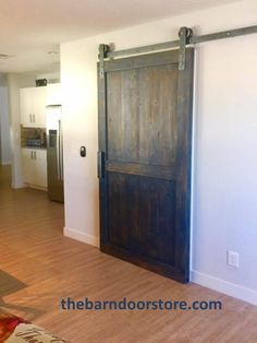 A couple of last minute barn doors in place just in time for Thanksgiving. The & Now you see it...now you donu0027t! This Scottsdale customer had a ... pezcame.com
