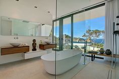 freestanding baths in modern bathrooms - Google Search