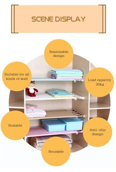 Expandable Storage Rack – Dealz Ninjaa Cheap Storage, Storage Rack, Storage Shelves, Wall Shelves, Storage Organization, Wardrobe Shelving, Diy Wardrobe, Extra Storage Space, Storage Spaces